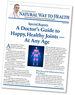 Doctor's Guide to Happy, Healthy Joints